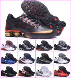 2019 Chaussures Shox Avenue 802 803 para hombre Zapatillas deportivas baratas ENTREGAR OZ NZ R4 Hommes Athletic Sneakers diseñador Zapatillas de lujo zapatos desde fabricantes