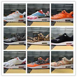 best website 48c57 10e3a 2018 Hot Piet Parra x 1 DLX ATMOS Tartan Wheat Premium Wildleder Laufschuhe  Wildleder Damen Herren Trainer 1s Chaussures Sneakers US 36-45 günstig  schuhe ...