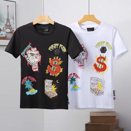 Chaude 19s Europe Mode t-shirt Pour Hommes Vêtements Nouvelle marée PP col rond t-shirt Hommes casual coton imprimer T-shirt À Manches Courtes ? partir de fabricateur