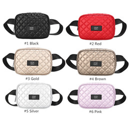 Nuevo Pink Black Fanny Pack Embrague 6 colores Cinturón Cinturón Bolsa Cámara Bolsa Monedero Bolsos Bolsos impermeables Monederos Mini Waistpacks desde fabricantes