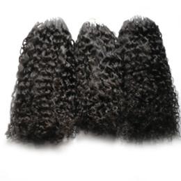 Extensões de cabelo encaracolado micro loops on-line-Extensões do cabelo anel micro afro crespo kinky curly cabelo humano bundles micro loops extensões de cabelo humano 300 s micro pérola europeia 300g