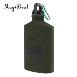 bottiglie d'acqua backpacking Sconti 500ml Sport Bottiglia d'acqua Bere bollitore per campeggio all'aperto Escursionismo Viaggi Backpacking Ciclismo