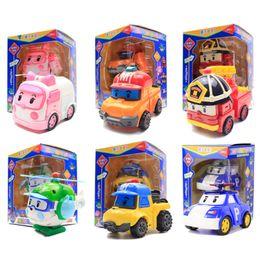 Robocar poli toys online-Robocar Poli Toy Korea Robot Transformación de automóviles Transformación Juguetes Poli figuras de acción Robocar Toys Sin caja Los mejores regalos para niños