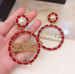 Orecchino a goccia di forma rotonda e parole gioielli di stile di moda per donne regali orecchino di nozze in regalo placcato oro 18k gioielli PS6763A da
