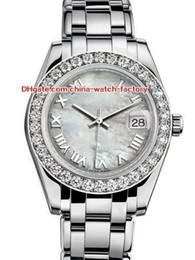 12 Estilo Topselling de Alta Qualidade 31mm 36mm Pearlmaster Datejust 81299 Diamante Bisel Ásia Mecânico Automático Ladies Watch Mulheres S Relógios de Fornecedores de grande mochila tática preta