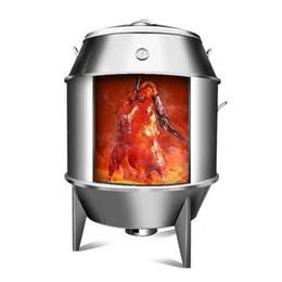 Estufa de gran capacidad para horno de pato asado de acero inoxidable comercial de 80/90 cm Estufa de gran capacidad para pollo asado desde fabricantes