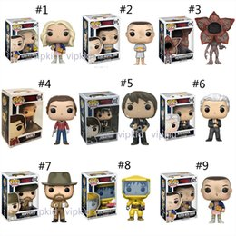 pop tv Coupons - 11 Style Funko POP Stranger Things Season 3 toys New TV series Eleven Demogorgon PVC Model dolls Gifts toys B1