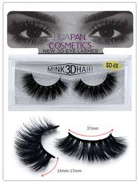 2019 menschenhaare wimpernstreifen heiße Verkäufe 3D Mink Wimpern Augen Make-up Mink falsche Wimpern weiche natürliche starke gefälschte Wimper 3D Eye Lashes Erweiterung Schönheits-Werkzeuge 11 Stil