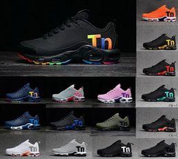 2019 Ar Mercurial Além disso Tn Ultra SE KPU desenhista calça preta arco-íris aumento da ventilação TNS esporte tênis Chausseures executando shoes36-46 de Fornecedores de insta pump fury