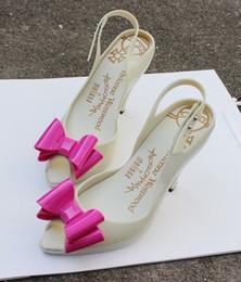 talons de mélisse Promotion Brésil Melissa chaussures de gelée en plastique à talons hauts avec talons hauts pour femmes