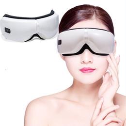 elektrische augenvorrichtung Rabatt Elektrische Vibration Bluetooth Eye-Augen-Pflegegerät Müdigkeit Entlasten Vibration Massage heiße Kompresse Therapie Gläser