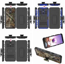 Hardclip holster online-Clip gürtel stehen rüstung hybrid hard case für google pixel 3 a / 3 a xl luxus stoßfest handy haut abdeckung swivel holster camo 50 stücke