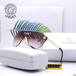 Óculos de sol designer de óculos de sol óculos de luxo óculos de marca para mens womens adumbral óculos 6 cores de alta qualidade com caixa de