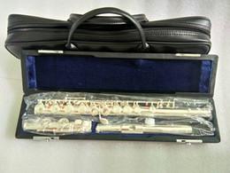 Серебряная флейта JUPITER JFL-511ES Закрытые 16 отверстий C Key Флейта Купроникель от
