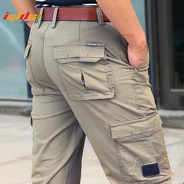 Männer arbeiten hosen online-Army Tactical Cargo Pants Männer SWAT Special Force Combat Pants Beiläufige dünne Mehrfacharbeits-Baumwoll-Freizeithose