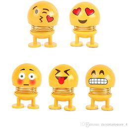 Kopfschüttelnd spielzeug auto ornamente bobblehead nick puppen niedlichen cartoon lustige emoji wackelkopf roboter schöne auto armaturenbrett dekor auto (einzelhandel) von Fabrikanten