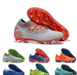 2019 edición limitada Nuevos hombres de la moda Futuro Netfit Griezman 19.1 FG Zapatillas de fútbol para interiores Baratas para la edición limitada 19.1 MVP FG / AG zapatos de botas de fútbol 2019 rebajas edición limitada