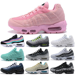 air 95 sneaker Promotion Nike Air Max 95 Shoes Chaussures De Course Hommes Femmes Throwback Future Greedy Triple Blanc Jaune Pull Noir Noir Bred Designer Sport Sneakers 36-45