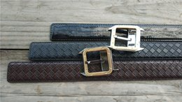 Deutschland Marken-Männer Betl 2017 Famous 100% wirklich Ledergürtel Glatte Buckle Frauen und Männer Qualitäts-echtes Leder-Designer-Gürtel für Männer Versorgung