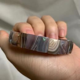 Pulseiras de ágata por atacado on-line-natural ágata de botswana / Sardonyx pedra pulseira de pedras naturais gemstone bangle jóias para mulher para o presente por atacado!