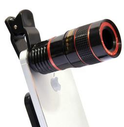 2019 handy ohne kamera Neues 8 X18 Handy-Monokular-Teleskop mit Universal-Clip für jedes Mobiltelefon ohne Vignette-Teleskop-Kamera-Adapter günstig handy ohne kamera