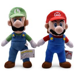 mario großer plüsch Rabatt 41cm großer Super Mario Bruder Plüsch Stofftier Mario Luigi Super Mario Plüschtiere Plüschpuppe lol