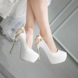 micro meninas vestidos Desconto Mais recente moda elegante da senhora bombas de casamento dama de honra calçados noiva mulheres boate polo sapatos de dança da menina popular vestido de festa sapatos