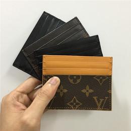 2019 bolso de mujer negro titular de la tarjeta de diseño monedero para hombre para mujer de lujo titular de la tarjeta bolsos de cuero titulares de tarjetas monederos monedero pequeño monedero diseñador 8877674 rebajas bolso de mujer negro