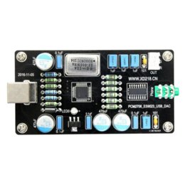 Argentina Aiyima PCM2706 ES9023 USB Audio Tarjeta de decodificación de la tarjeta de sonido DAC HI-FI Cero ruido I2S Decodificación al por mayor Suministro