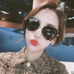 2a7aa0291878a The new ins sunglasses are a Korean version of the retro original web  celebrity hidden-sound street photo sunglasses ulzzang