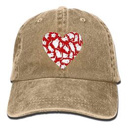 2019 New Custom Baseball Caps Print Hat Cat Heart2 Mens Cotton Adjustable  Washed Twill Baseball Cap Hat ebee36304aa1
