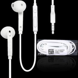 Micro casque de haute qualité en Ligne-Écouteurs avec emballage casque de haute qualité dans l'oreille écouteurs avec contrôle à distance pour jack 3,5 mm téléphone 5 6