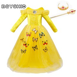 2019 roupas de besta de beleza Vestidos do presente 3-10y do Natal do animal da beleza das crianças do traje do carnaval das meninas para a roupa das crianças roupas de besta de beleza barato