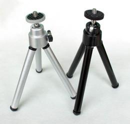 Mini trípodes cámaras digitales online-Promoción intensa para Mini trípode fotográfico móvil Trípode fotográfico de escritorio Trípode de cámara SLR digital pequeño
