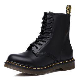 Top Qualität Dr. Martins 1460 Herren Stiefel Dr. Martins Damen Stiefel Brand Snow Boots Fur Warme Damen Schuhe