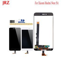 Pantalla de visualización xiaomi online-JRZ para Xiaomi Redmi Note 5A Pantalla LCD y reemplazo del ensamblaje del digitalizador de pantalla táctil para Xiaomi Redmi Note 5A Pro + Herramientas
