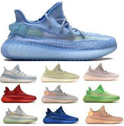 ADIDAS Static Designer Lundmark Antlia Citrin Glow Synth Clay Véritable Forme Hyperspace Nuage Blanc Kanye West 2019 Nouveaux Hommes Femmes Baskets Chaussures de course ? partir de fabricateur