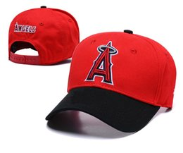angel hats Coupons - 2019 Top Quality Men's Los Angeles Angels Snapback Hats Embroidered Logo Brands Cheap Sports Baseball Fans Hat Fashion Adjustable Caps Bone