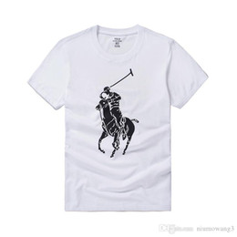 Camiseta Ralph con la marca Big Horse Mark Camiseta de manga corta para HOMBRE NUEVOS de Lauren Camiseta informal con camiseta de polo de Camisa Camisetas con marca de marea S-XXL desde fabricantes