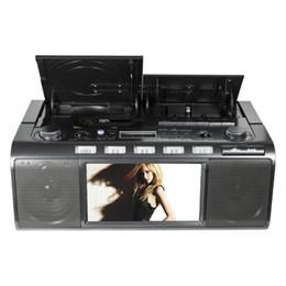 2019 dvd recargable Panda CD-5000 reproductor grabadora de CD máquina de aprendizaje Inglés de radio pan de DVD dvd recargable baratos