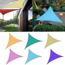 poly sonne Rabatt Mode neue tragbare Dreieck Form UV-Schutz im Freien Sonnenschutz Markise Baldachin neue Camping Wandern
