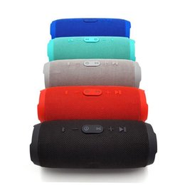 Canada Haut-parleur Bluetooth anti-éclaboussures JBL charge 3 haut-parleurs bluetooth plug-in puissance mobile double membrane radio portable DHL sans frais Offre