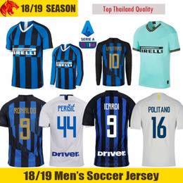 9bad1755900 19 20 ICARDI Soccer Jerseys INter KEITA BALDE 2019 2020 LAUTARO Football  Shirt Milan 20th anniversary RONALDO PERISIC POLITANO Jersey inexpensive  liverpool ...
