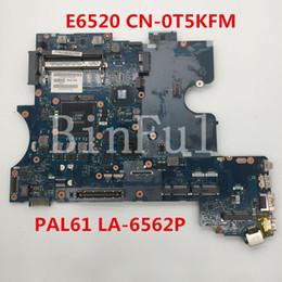 De alta calidad para E6520 placa madre del ordenador portátil CN-0T5KFM 0T5KFM T5KFM PAL61 LA-6561P 100% probado completo desde fabricantes