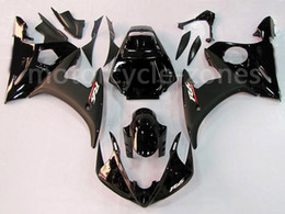 yamaha r6s kit Rebajas Inyección motorycle Mate Negro brillante plástico ABS Carrocería Kit carenado para Yamaha YZF R6 2003-2005 2004 R6S 06-09