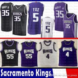 f2562ca0514 Sacramento Jersey DeAaron 5 Fox Marvin 35 Bagley III Basketball Jerseys  Chris 4 Webber Jason 55 Williams Mesh Retro inexpensive jason williams  jersey