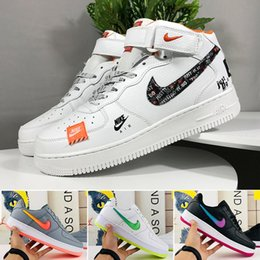 New Arrivals Forces Volt Running Shoes Women Mens Trainers Forced One Sports Skateboard Classic 1 Green White Black Warrior Sneakers L5T45KZ