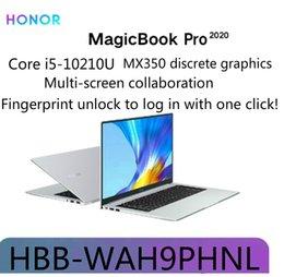 2019 i7 nvidia MagicBook Original Pro 2020 16,1 polegadas i5-10210U GeForce® MX350 Windows 10 Início 16GB 512GB 1920x1080 NFC HDMI Bluetooth