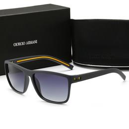 Acessórios para lentes on-line-2019 óculos de sol de alta qualidade justin modelo para o homem mulher polarizada lentes UV400 com caixas originais, pacotes, acessórios, tudo! A0993