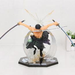 2020 anime zoro venta caliente de Japón animado de una pieza POP figura de acción de Roronoa Zoro 17CM Banpresto colossum nuevo en caja rebajas anime zoro